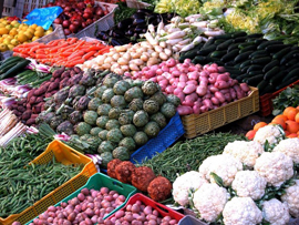 Vegetables from market